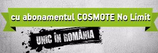 Cosmote No Limit abonament cu totul nelimitat