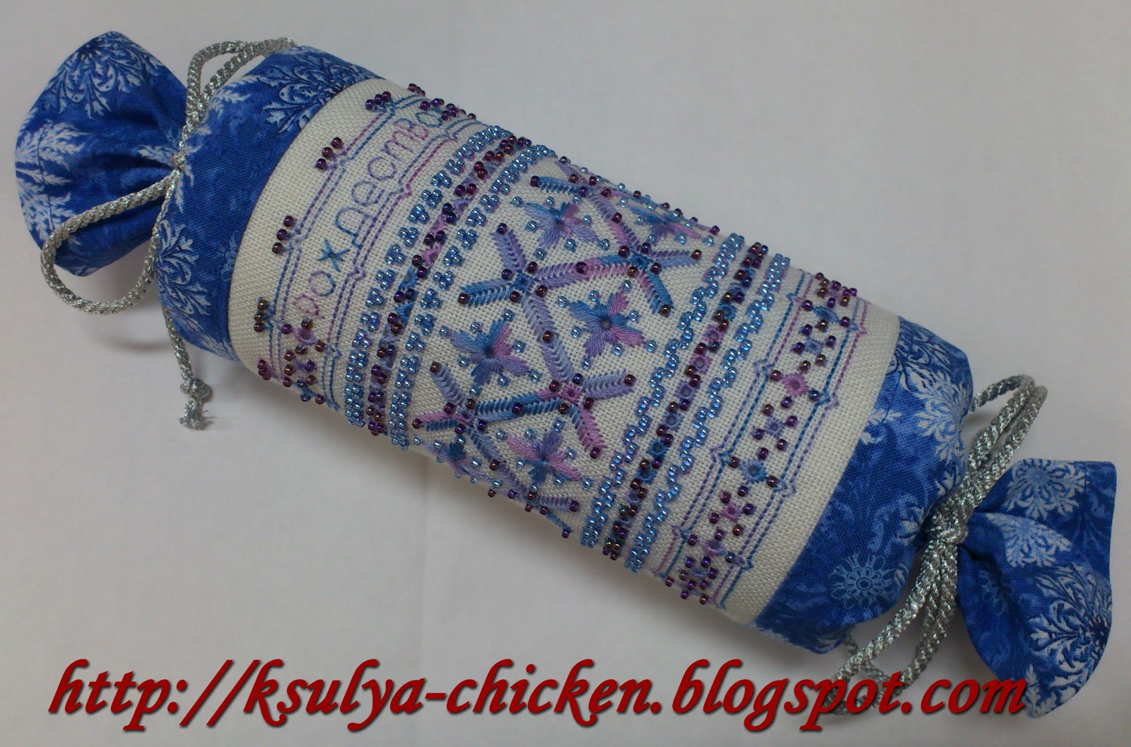 Батончики схемы вышивки