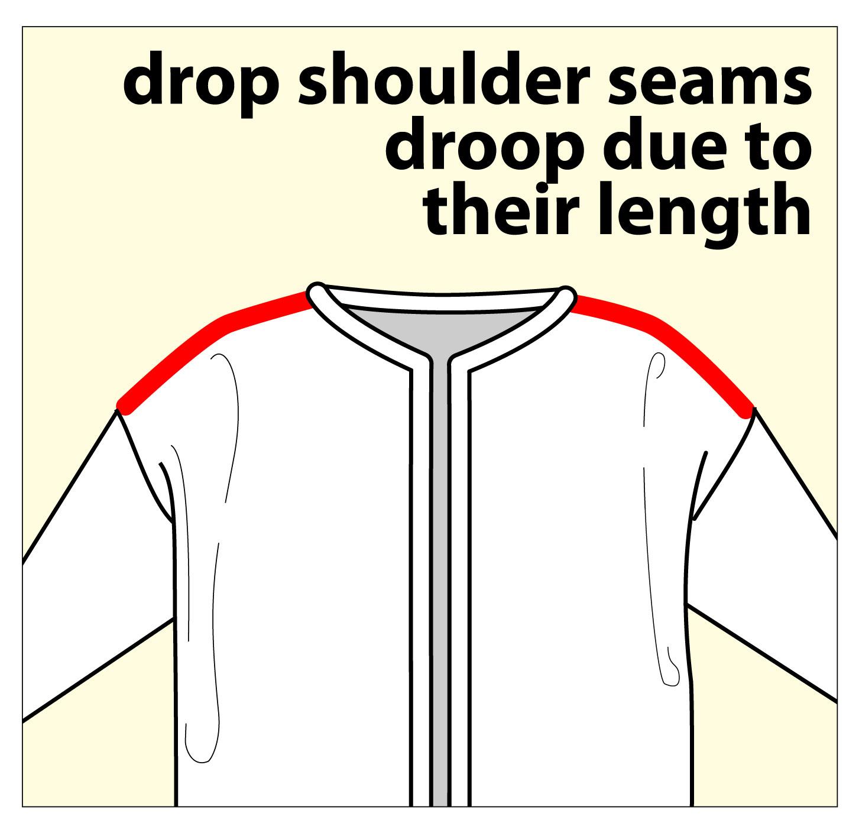 TECHknitting: My sweater slips off my shoulders...