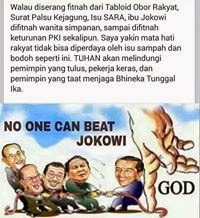 No One Can Beat Jokowi