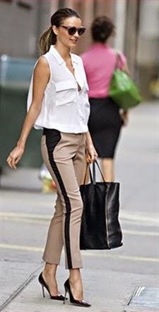women's tuxedo style pants