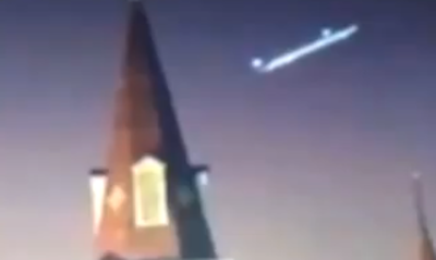 Huge Glowing UFO Sighting Caught Flying Above St Louis