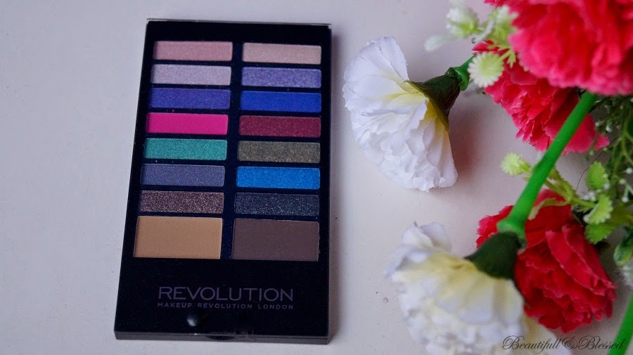 Makeup Revolution Eyeshadow and Eyebrow Palette in Make Believe