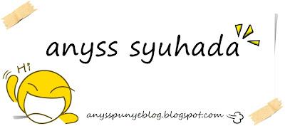 :anyss syuhada: