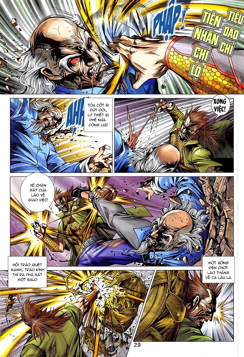 Tân Tác Long Hổ Môn chap 793 Trang 29 - Mangak.info