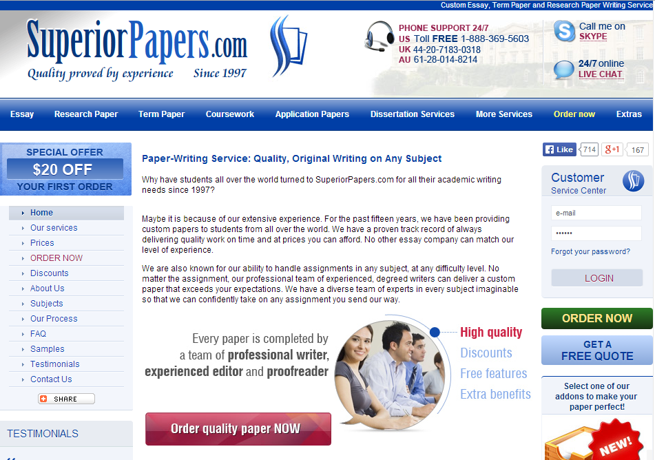 Free custom research papers