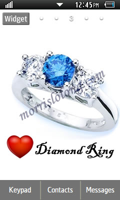 GT S5260 Diamond Ring Samsung Themes Free Download Wallpaper