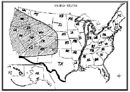 ConspiracyCom US Navy Map Of Future America - Edgar cayce future us map