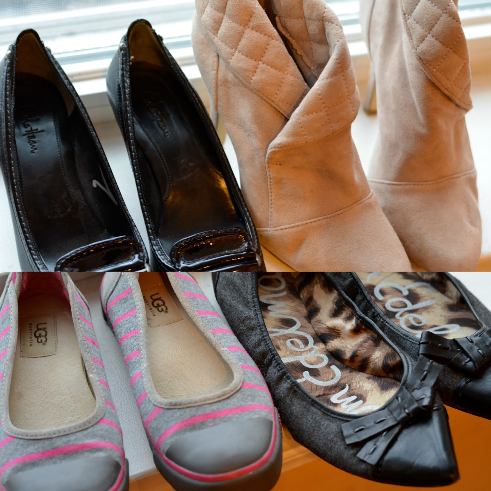 thrift haul new shoes ugg