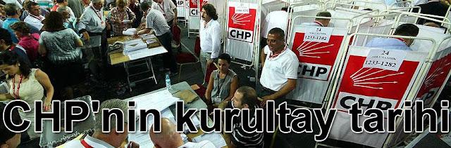 CHP'nin kurultay tarihi
