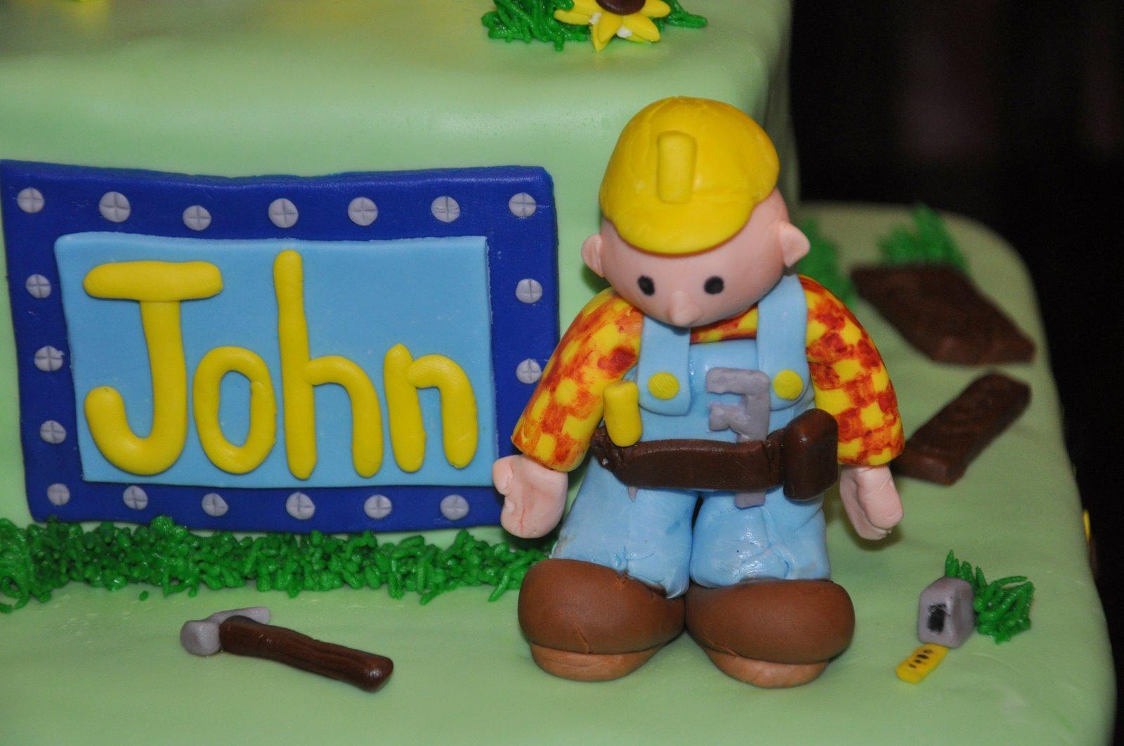 Bob Builder Cake Decorations