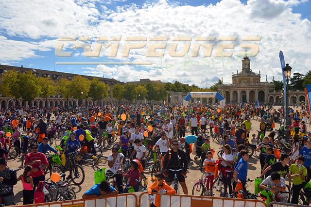 Día de la Bicicleta de Aranjuez 2015