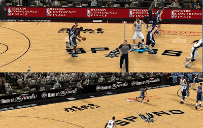 NBA 2K13 San Antonio Spurs Playoffs Ads Update