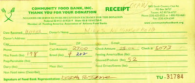 One Can A Week Food Donation Program One Can A Week