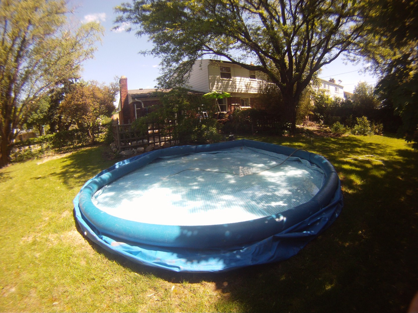 New used pool for Deep above ground pools