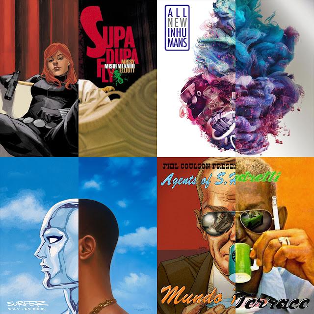 Drake, Future, Missy Elliott & Curren$y tem seus albuns em versão MARVEL