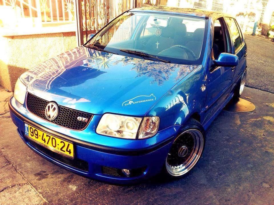 Polo 6 Gti Modified >> Modified Cars: Blue Volkswagen Polo GTI