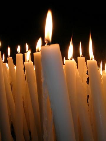 Velas de Umbanda;