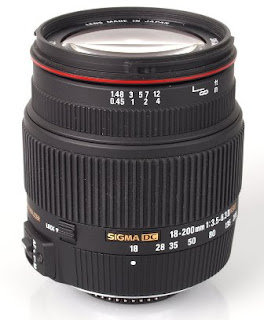 SIGMA 18-200mm F3.5-6.3 DC OS HSM II Canon
