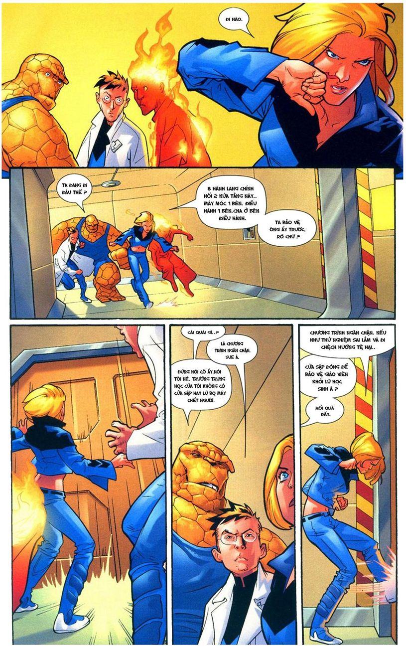 Ultimate Fantastic Four chap 9 - Trang 9