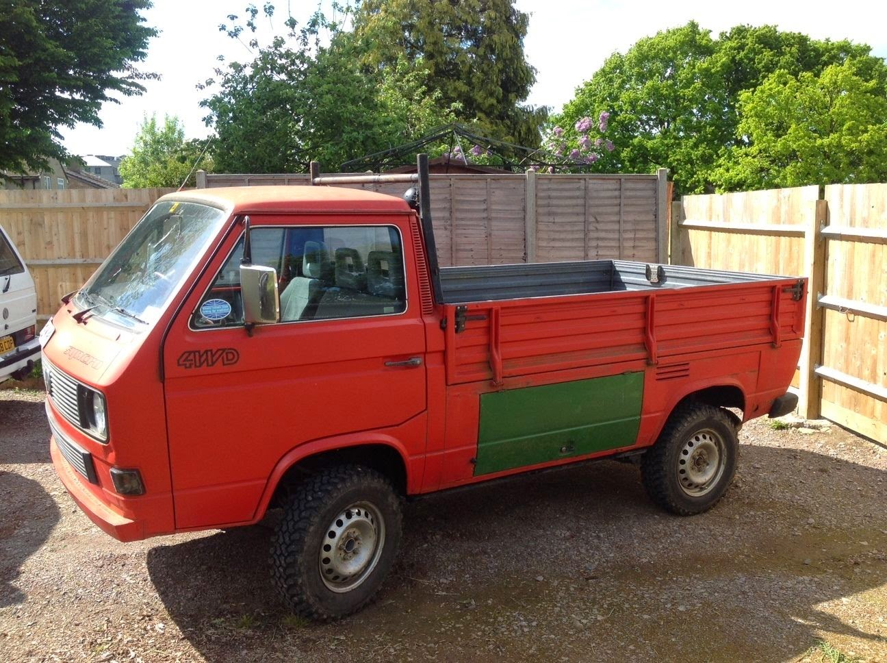 1988 vw t25 syncro 4x4 pickup truck 4x4 cars. Black Bedroom Furniture Sets. Home Design Ideas