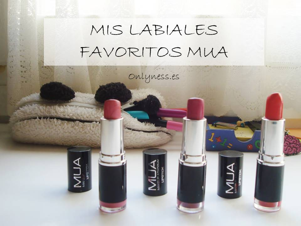 OnlyNess labiales favoritos mua