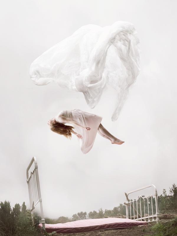 Fotos surrealistas irreales mujer