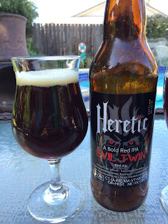 Heretic Evil Twin Red Ale 1