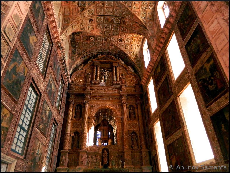 Churches Goa Old Goa Monuments Church of