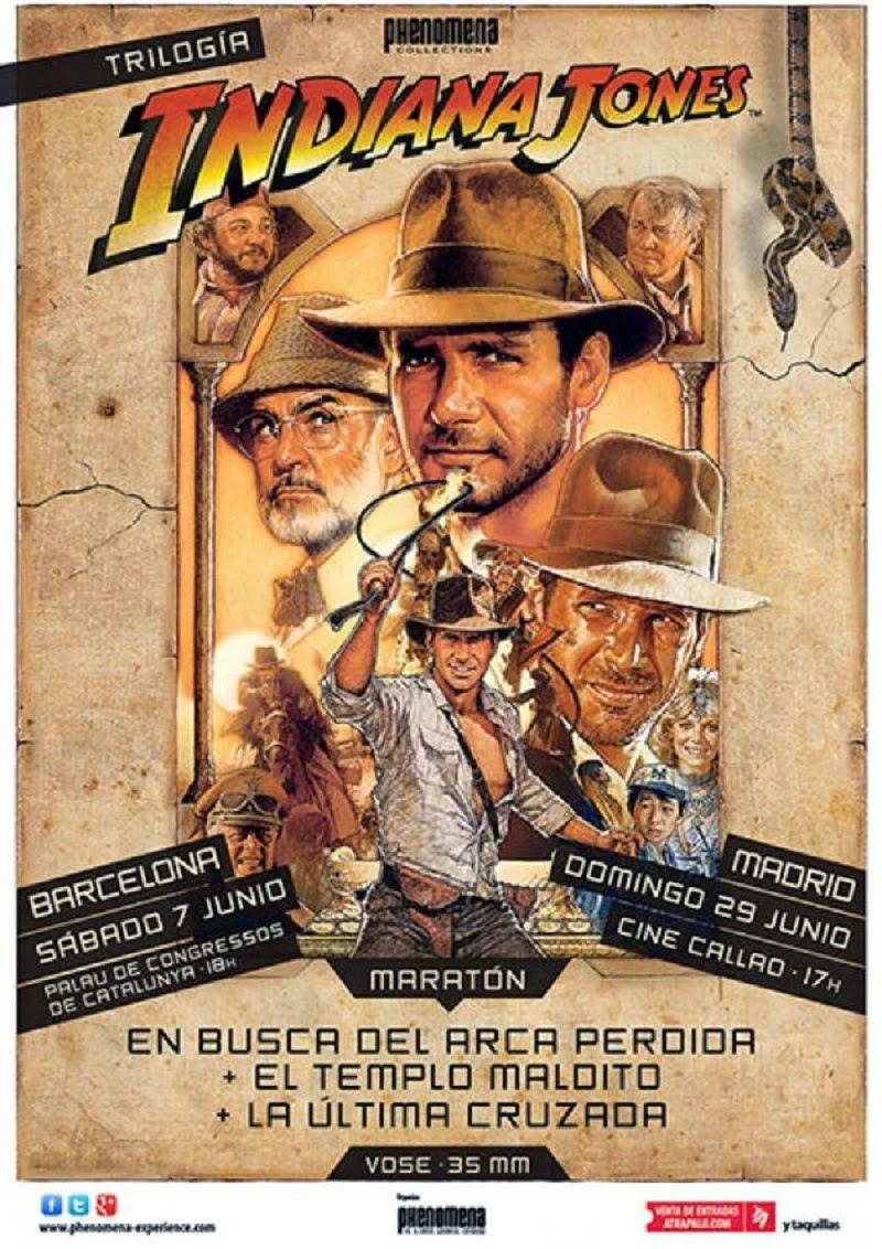 "Maratón ""Indiana Jones"" en Phenomena Experience"