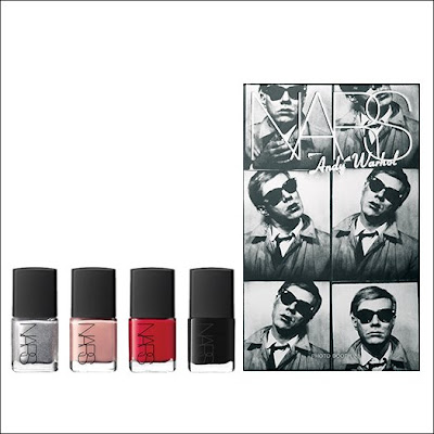 Photoboot set NARS andy warhol