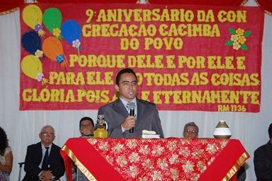 Aniversário de 9 anos da congregação Caimba do Povo