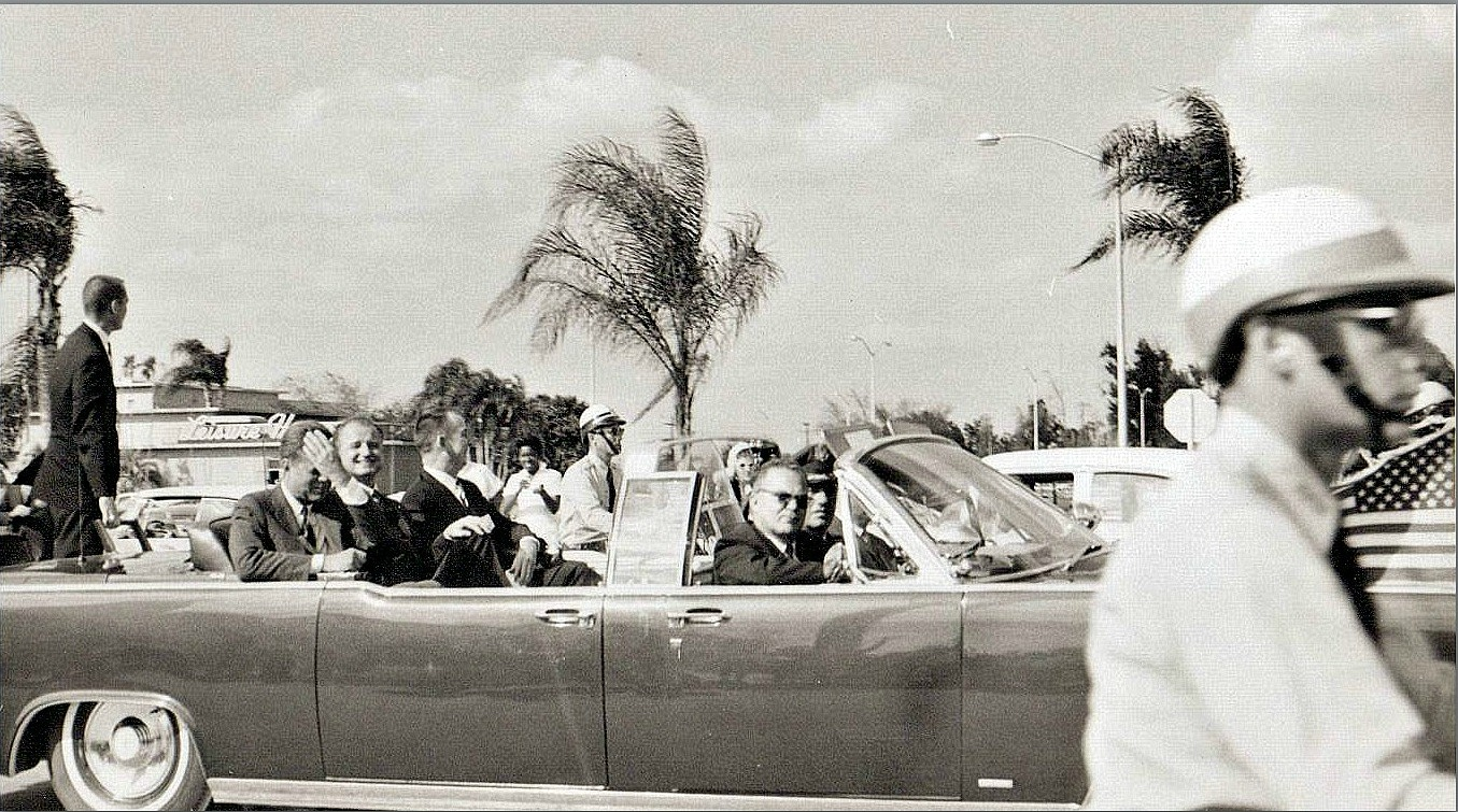 NEW photo discovered- a Tampa resident sent me this pic of the 11/18/63 motorcade