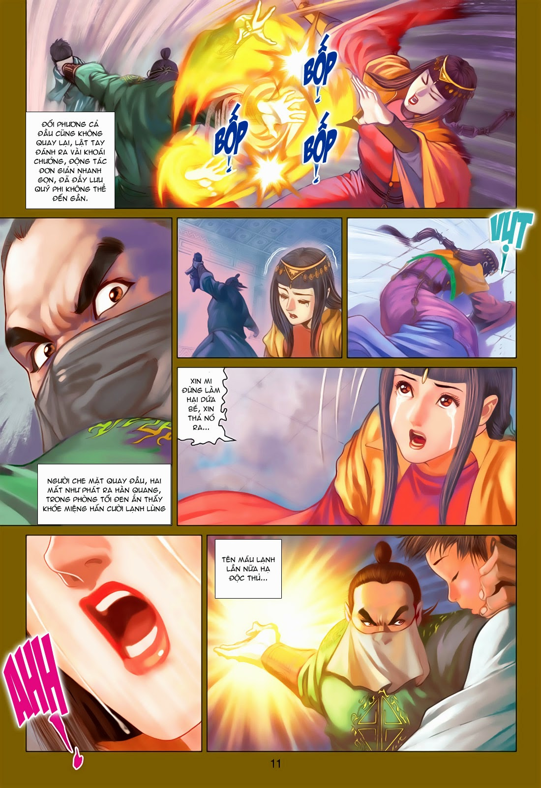 xem truyen moi - Anh Hùng Xạ Điêu - Chapter 78: Sát Anh