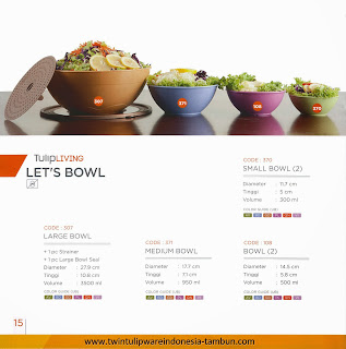 LET'S BOWL - KATALOG TWIN TULIPWARE 2013-2014