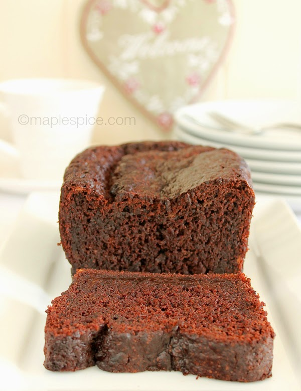 Vegan Chocolate Banana Loaf Cake