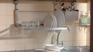Desain Dapur Minimalis Bergaya Retro