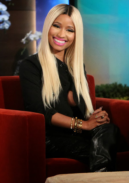 Nicki Minaj Appearance in The Ellen DeGeneres Show