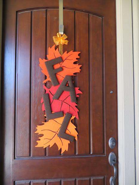 Halloween Door Decoration Fall