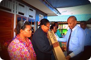 Walikota Resmikan Rumah Ondoafi dan Para-para Adat Ireeuw