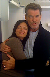 Not Every Girl Gets a Hug from Bond. Love Pearce Brosnan.