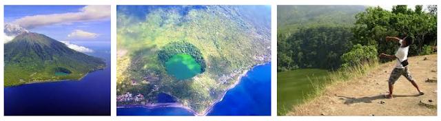 Danau Tolire - Wisata Kota Ternate yang menyimpan sejumlah Misteri