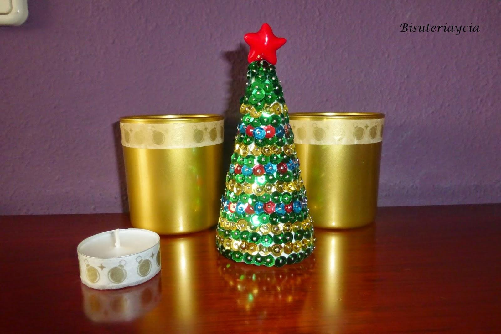 Bisuteriaycia como hacer un rbol de navidad con lentejuelas - Como se adorna un arbol de navidad ...
