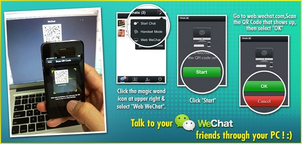 WeChat for PC : WebChat