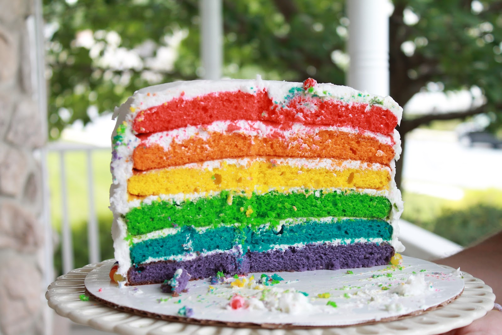 Rainbows And Kitty Cats Birthday Party