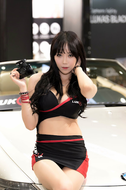 5 Kim Ryu Ah - Seoul Auto Salon - very cute asian girl-girlcute4u.blogspot.com