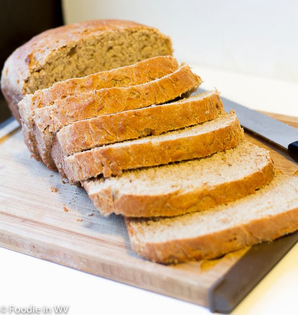 Oat Bread Sweetened with Swerve Sweetener #switch2swerve