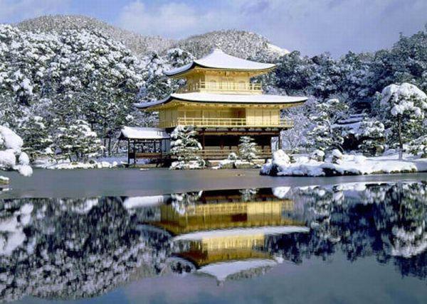 1001Places: The Temple of the Golden Pavilion, Kyoto Japan