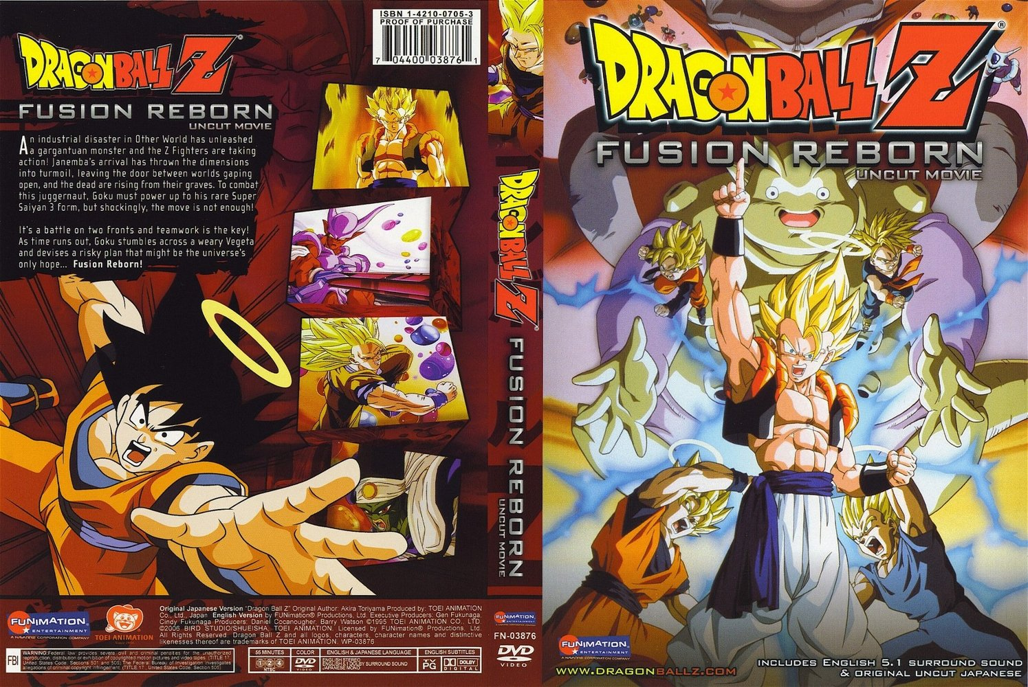 Dragon Ball Z 15  La Fusion De Goku Y Vegeta  Mp4 AudioLatino 4S