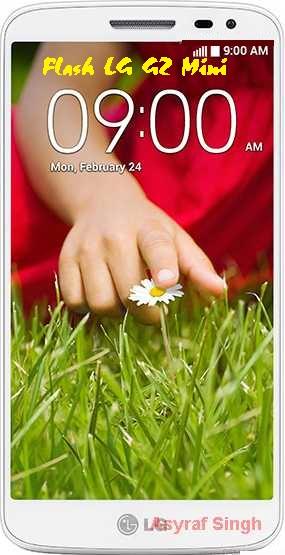Flash LG G2 MINI D618 D625 D620R D610AR D629FR D620K